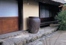 備前焼の壺1